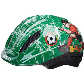 KED Meggy Trend casco per bici Bambino verde